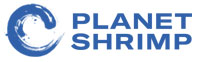 Planet Shrimp Logo